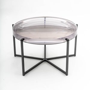 High end luxury coffee table made of resin,
